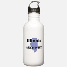 Illinois Archivist Water Bottle
