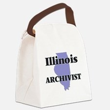 Illinois Archivist Canvas Lunch Bag