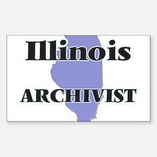 Illinois Archivist Decal