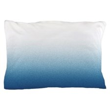 Beautiful Indigo Blue Ombre Pillow Case