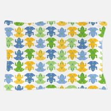 Frogs Pattern Pillow Case