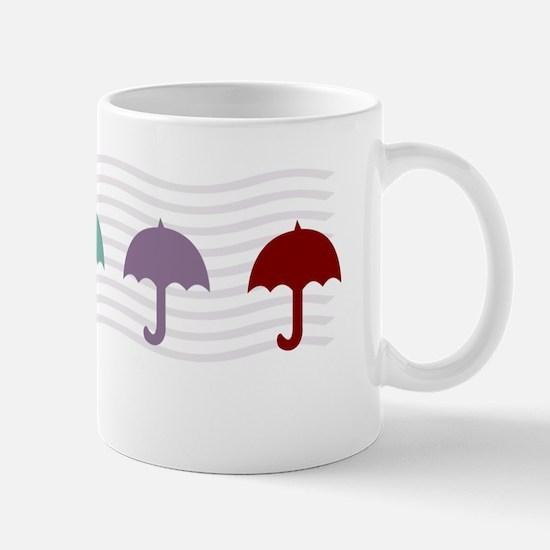 Dreamy Umbrellas Baby Big Sister Mugs
