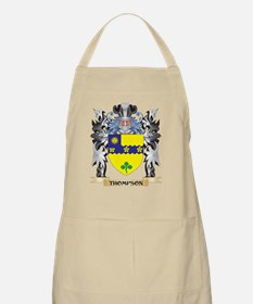 Thompson- Coat of Arms - Family Crest Apron