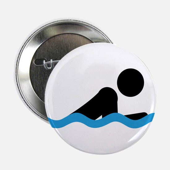 "breaststroke 2.25"" Button"