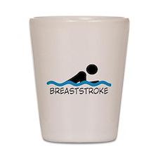 breaststroke Shot Glass