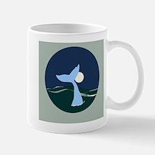 Whale Moon Mugs