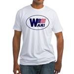 W-AR! Fitted T-Shirt