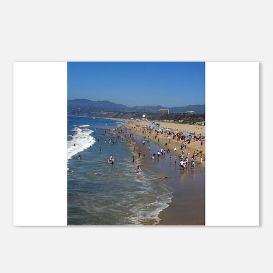 Los angeles Postcards (Package of 8)