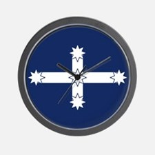 Eureka Flag Wall Clock