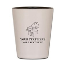 Custom piano Shot Glass