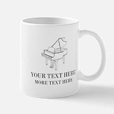 Custom Mugs For Piano Teacher Or Musician