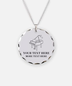 Custom Necklace For Piano Players