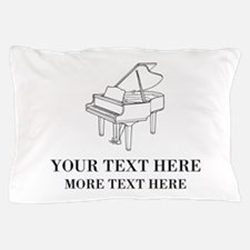 Custom piano Pillow Case