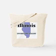 Illinois Envrionmentalist Tote Bag
