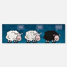Bored Sheep Bumper Bumper Bumper Sticker