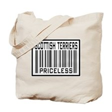Scottish Terriers Priceless Tote Bag