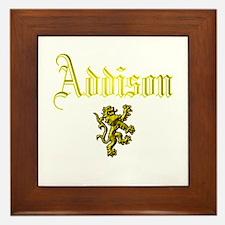 Addison. Framed Tile