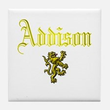 Addison. Tile Coaster