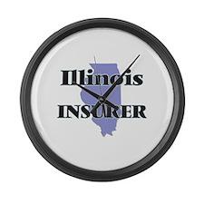 Illinois Insurer Large Wall Clock