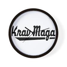 Krav Maga Wall Clock