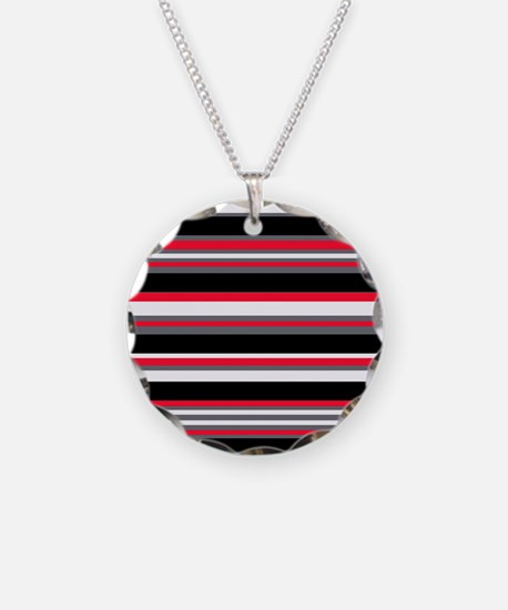 Horizontal Stripes Pattern: Necklace