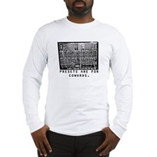 Presets Are For Cowards Synth Long Sleeve T-Shirt