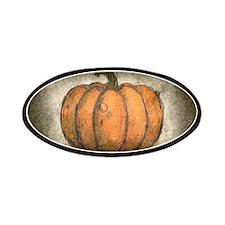 Pumpkin Ink Illustration Patch