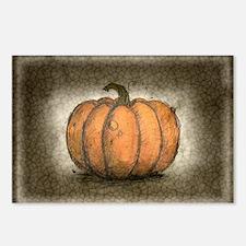 Pumpkin Ink Illustration Postcards (Package of 8)