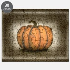 Pumpkin Ink Illustration Puzzle