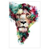 Lion Wrapped Canvas Art