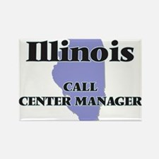 Illinois Call Center Manager Magnets