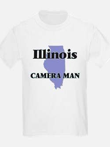 Illinois Camera Man T-Shirt