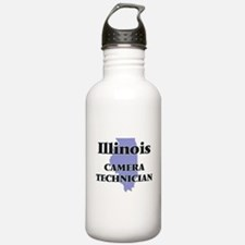 Illinois Camera Techni Water Bottle