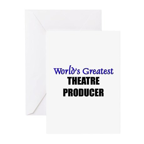 Worlds Greatest THEATRE PRODUCER Greeting Cards (P