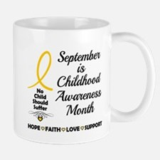 Childhood Cancer Awareness Mugs