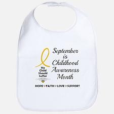 Childhood Cancer Awareness Bib