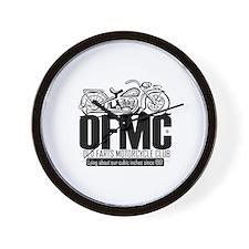 Old Farts Motorcycle Club Wall Clock
