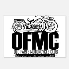 Old Farts Motorcycle Club Postcards (Package of 8)