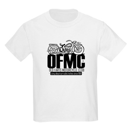 Old Farts Motorcycle Club Kids Light T-Shirt