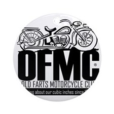 Old Farts Motorcycle Club Ornament (Round)