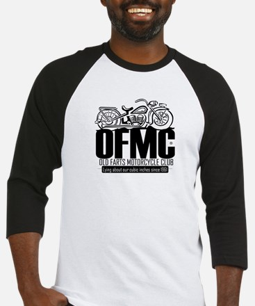 Old Farts Motorcycle Club Baseball Jersey