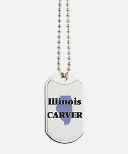 Illinois Carver Dog Tags