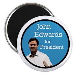 John Edwards Campaign Magnet