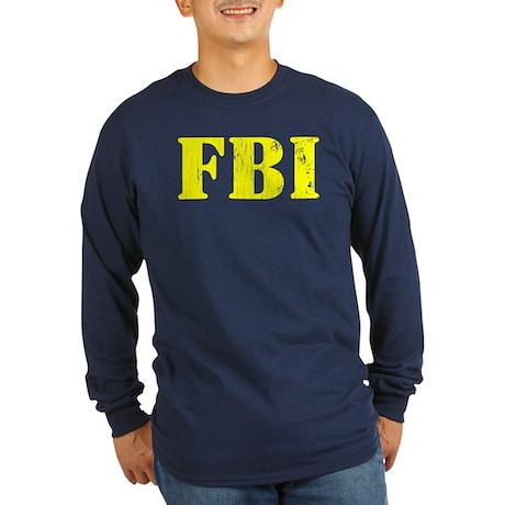 FBI Long Sleeve Dark T-Shirt