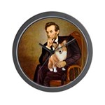 Lincoln's Corgi Wall Clock