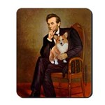Lincoln's Corgi Mousepad