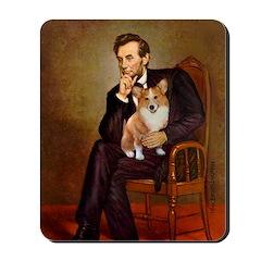 Lincoln's Corgi Mousepad
