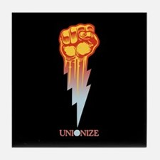 Unionize - Lightning Fist Tile Coaster