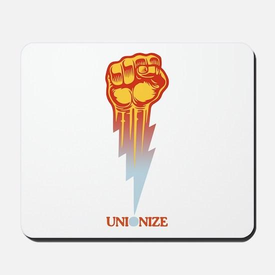 Unionize - Lightning Fist Mousepad