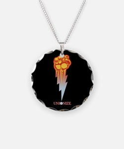 Unionize - Lightning Fist Necklace